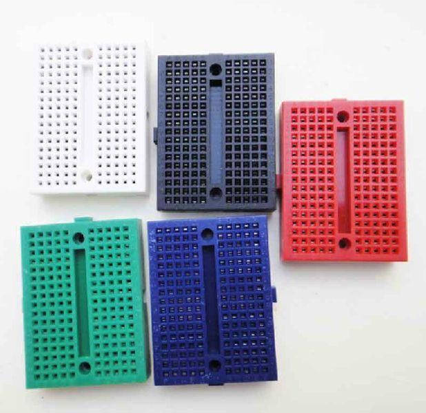 5PCS colourful SYB-170  breadboard / test board / mini small plate for arduio