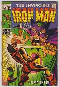 L7588-Iron-Man-11-Vol-1-VG-VG-Estado