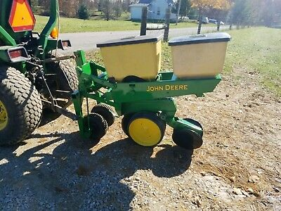 John Deere 1 Row 7000 Corn Planter With Precision Finger Meters EBay