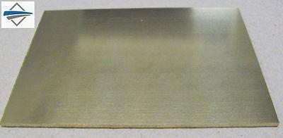 Messingblech , Messingplatte 200mmx200mmx 2,5mm Material:  CuZn37