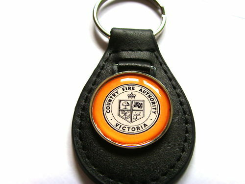 VICTORIA COUNTY FIRE AUTHORITY KEY FOB KEYRING GIFT