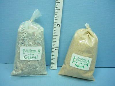 "Miniature /""Sir Thomas Thumb/"" Bag of Gardening GRAVEL DOLLHOUSE 1:12"