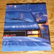 Original 1997 GMC Truck Full Line Sales Brochure 97 Jimmy Sierra Yukon Sonoma