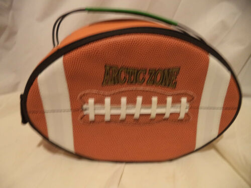 "Arctic Zone Football Lunch PackBag Closure 11""x7 12""x4"""