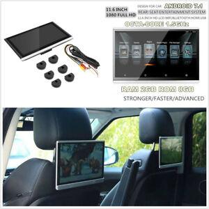 1-Pcs-HD-1080P-11-6-034-Android-7-1-Car-Headrest-Rear-Seat-Monitor-FM-HDMI-3-4G-Wifi