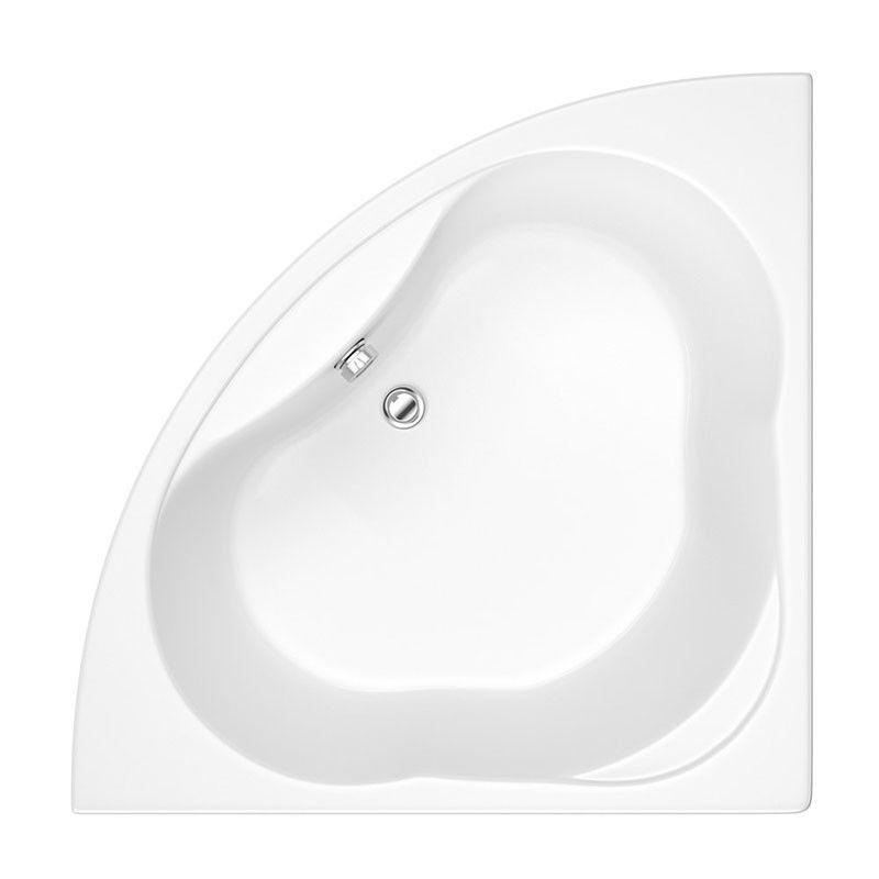 Trojan 1200 mm Coin Universel Droit gauche main douche bain avec panneau avant