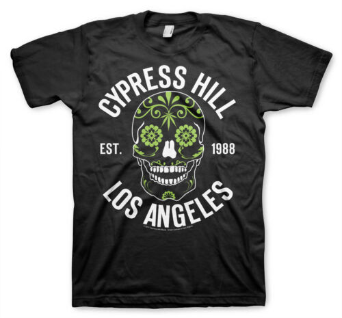 Sugar Skull Men/'s T-Shirt S-XXL Sizes Officially Licensed Cypress Hill