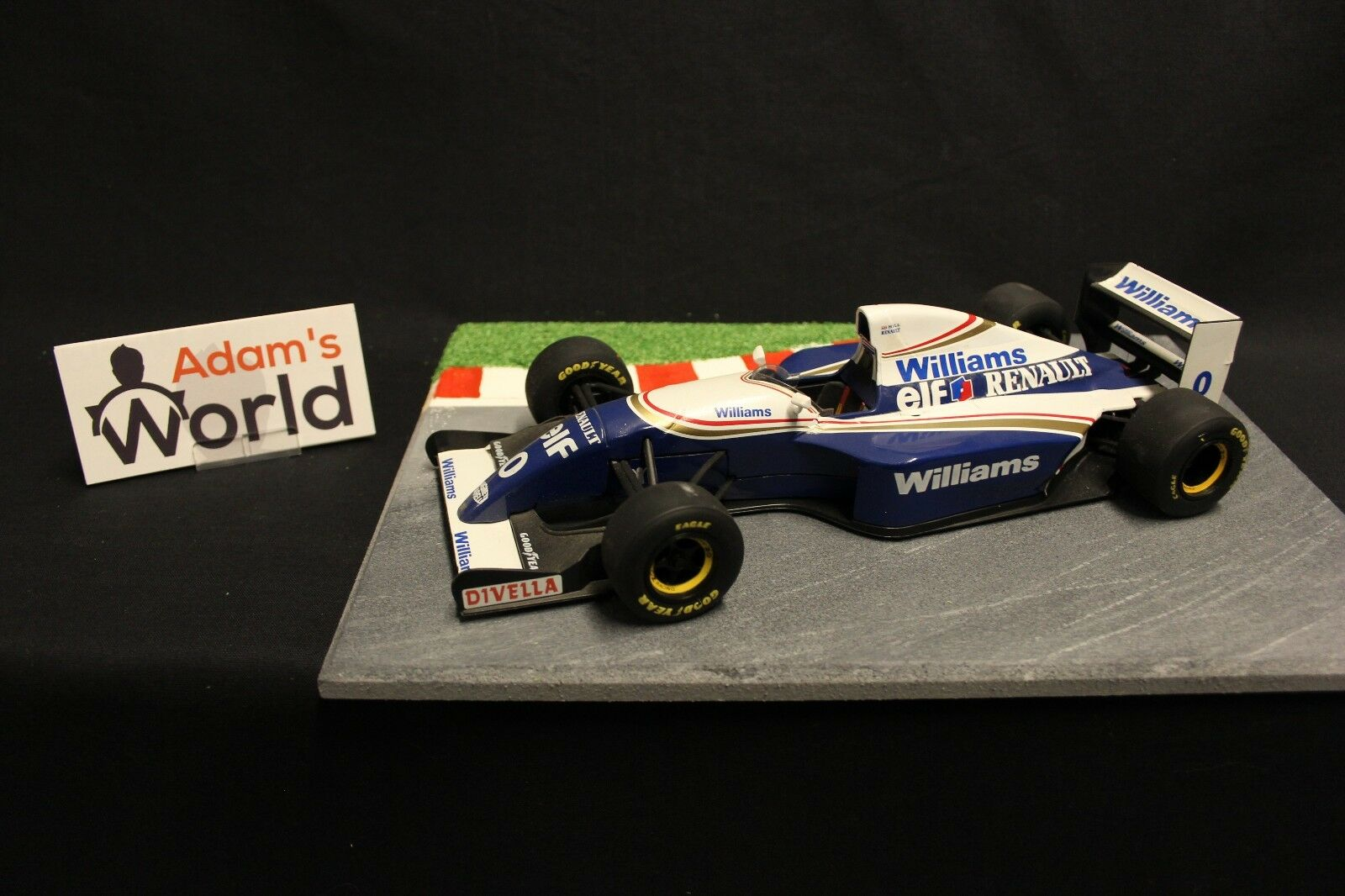 Minichamps Williams Renault show car 1994 1 18  0 Damon Hill (GBR) (F1NB)