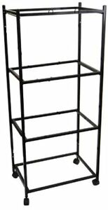 """4 Tiers Rolling Stand for 24""""x16""""x16"""" Aviary Bird Cages - 4134-379"""