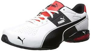 PUMA-Mens-cell-surin-2-fm-Low-Top-Lace-Up-Running-Sneaker-White-Size-9-0-RspH
