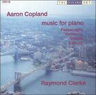 Aaron Copland: Music for Piano (CD, Oct-2003, Divine Art)