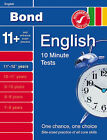 Bond 10 Minute Tests English 11-12+ Years by Sarah Lindsay (Paperback, 2008)