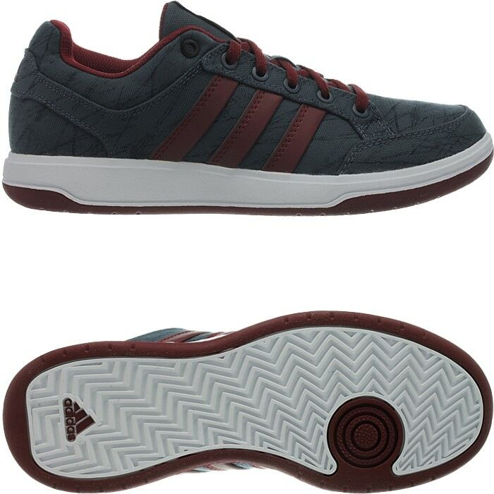 Adidas Oracle VI STR grau-rot Herren-Tennisschuhe klassischer Stil Turnschuhe NEU