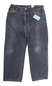 Calvin Klein Mens Grey Denim Jeans Size W34/L27
