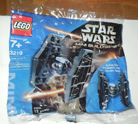 Star Wars Lego #3219 Mini Building Set Tie Fighter (Bagged) Toys