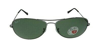 574e959c345494 100 Authentic Ray-Ban Cockpit Rb3362 004 58 Polarized Sunglasses for ...