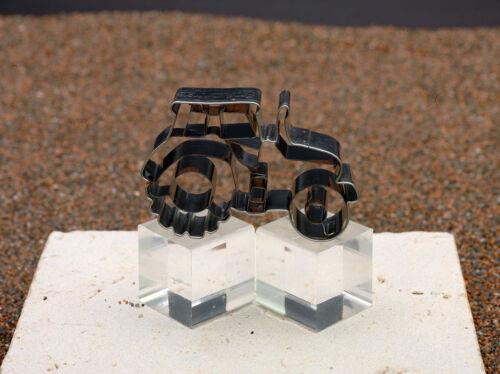 Städter Ausstecher Ausstechform Traktor Edelstahl 7,5 cm