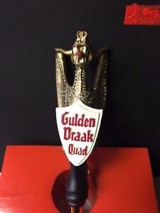 Beer Tap Handle Gulden Draak Quad Belgian Ale Ebay