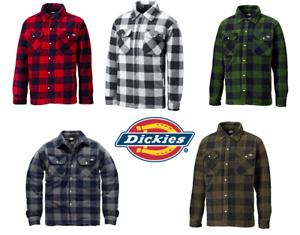 Dickies Mens Portland Padded Check Lumberjack Work Shirt Jacket ... 1c8dfa064ad4