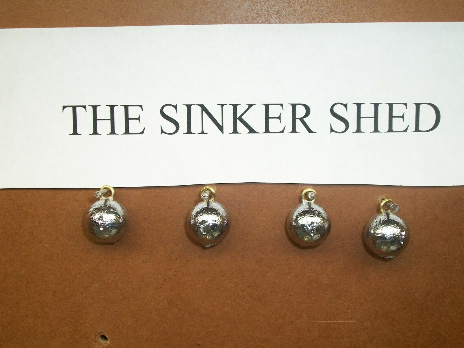1 oz cannonball sinkers - choose quantity 10/25/50/100 - FREE SHIPPING