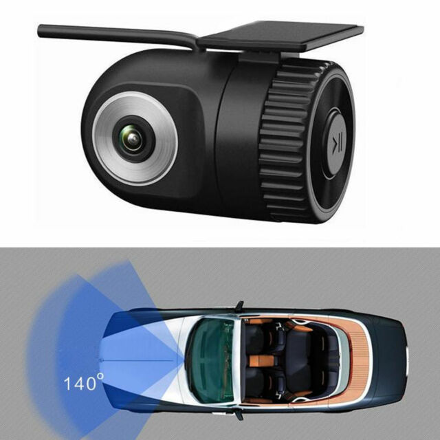 16V Night Vision Mini HD 1280P Car Video Recorder Camera Dash Cam Hidden