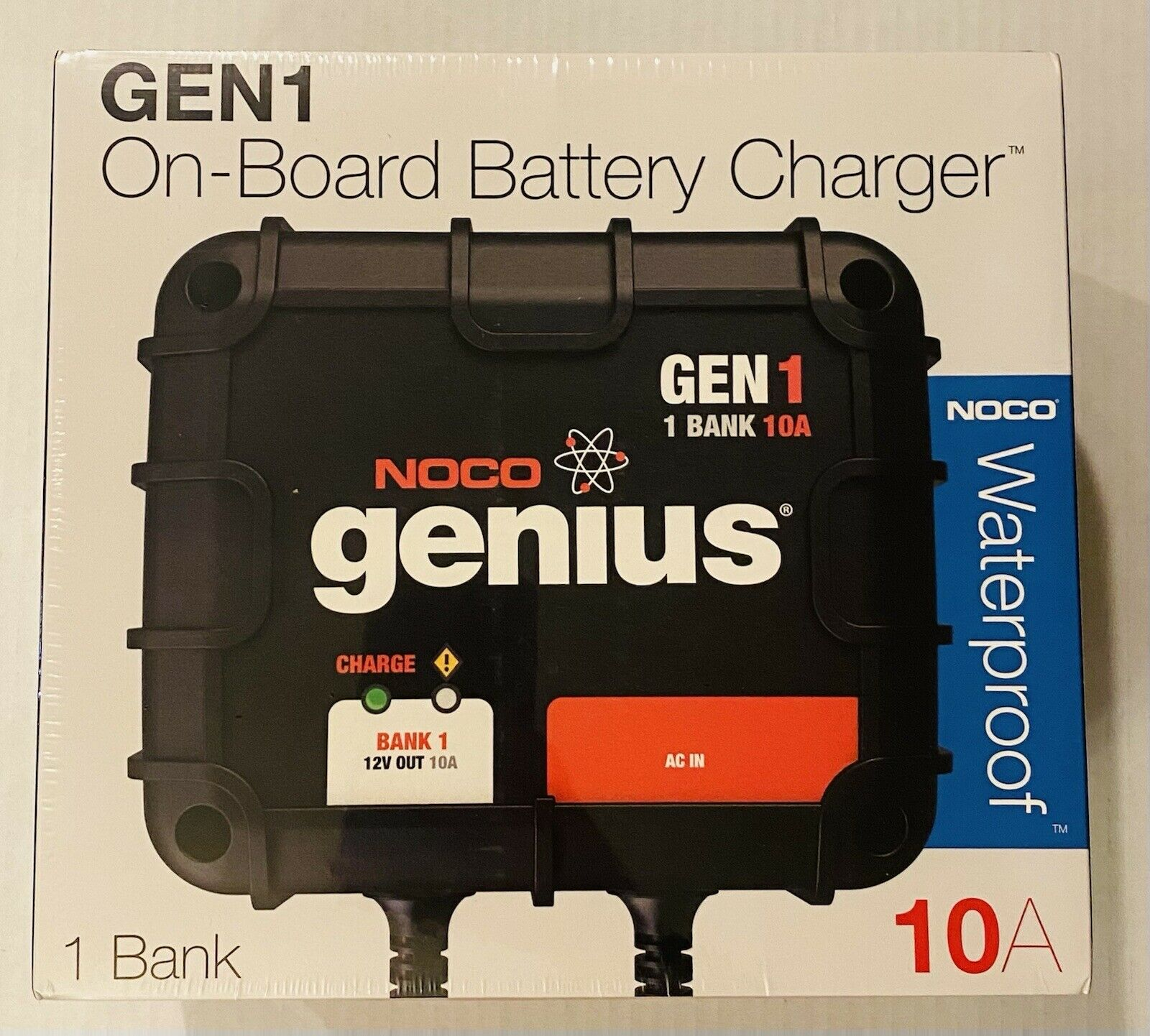 10Amp 1-Bank Onboard Battery Charger