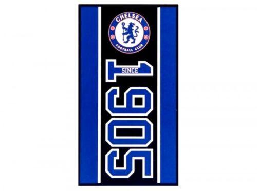 Chelsea FC Plage Bain Gym Serviette Official Licensed Merchandise 100/% coton