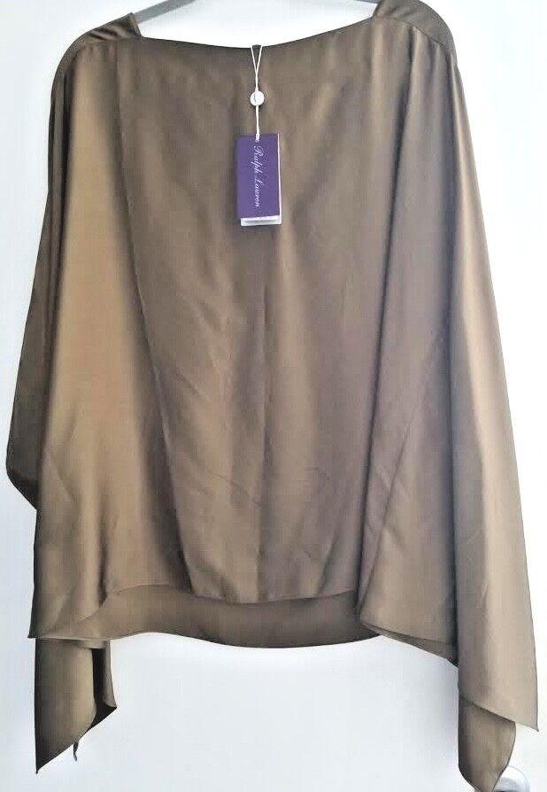 Ralph Lauren púrpura Label Oliva  Viscosa Para Mujer Top Xl Nuevo Con Etiquetas  990  mejor calidad mejor precio