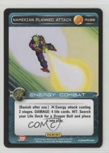 2014-Panini-039-s-Dragonball-Z-TCG-Set-1-Premiere-R135-Namekian-Planned-Attack-0b5