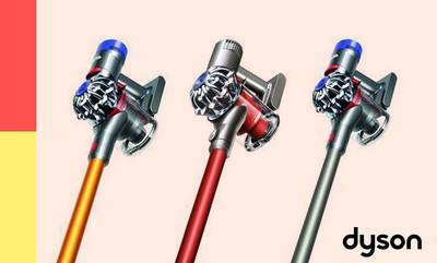 Save up to 20% on Dyson cord-free technology