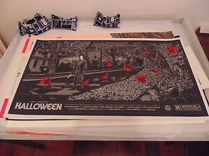 Ken-Taylor-Halloween-Poster-Print-Art-Mondo-REGULAR-EDITION-VERY-RARE