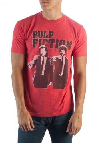 Miramax Pulp Fiction Men/'s Red Heather T-Shirt