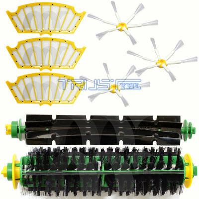 NEW For iRobot Roomba 500 510 530 535 540 570 550 560 Filters Brush Kit Parts US