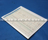 Ho Scale Builders Reference Chart With Ruler - 1:87.1 - Scale Dimensions