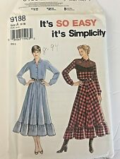 Misses Pants Skirt Blouse Size 10-16 UC Simplicity Sewing Pattner 9188 Ladies