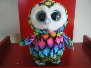 Ty Beanie Boos ARIA the owl 6 inch NWMT.Claire's Exclusive. Limited quantity