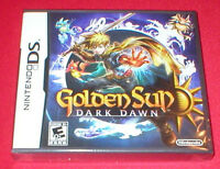 Golden Sun Dark Dawn For Nintendo Ds System Sealed