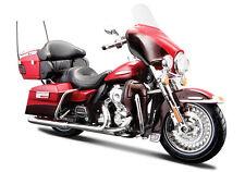 Harley Davidson Modell, 2013 FLHTK Electra Glide Ultra, Maisto Motorrad 1:12