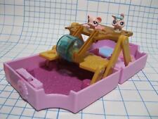 Littlest Pet Shop TEENIEST TINIEST MINI POP UP COMPACT bunny mouse Teensie set