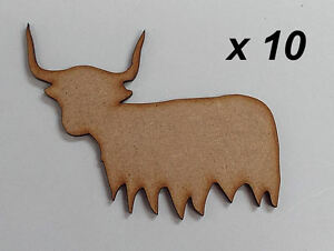Pack-of-10-100mm-High-HQ-MDF-Highland-cows-3mm-thick-MDFembelishment-04