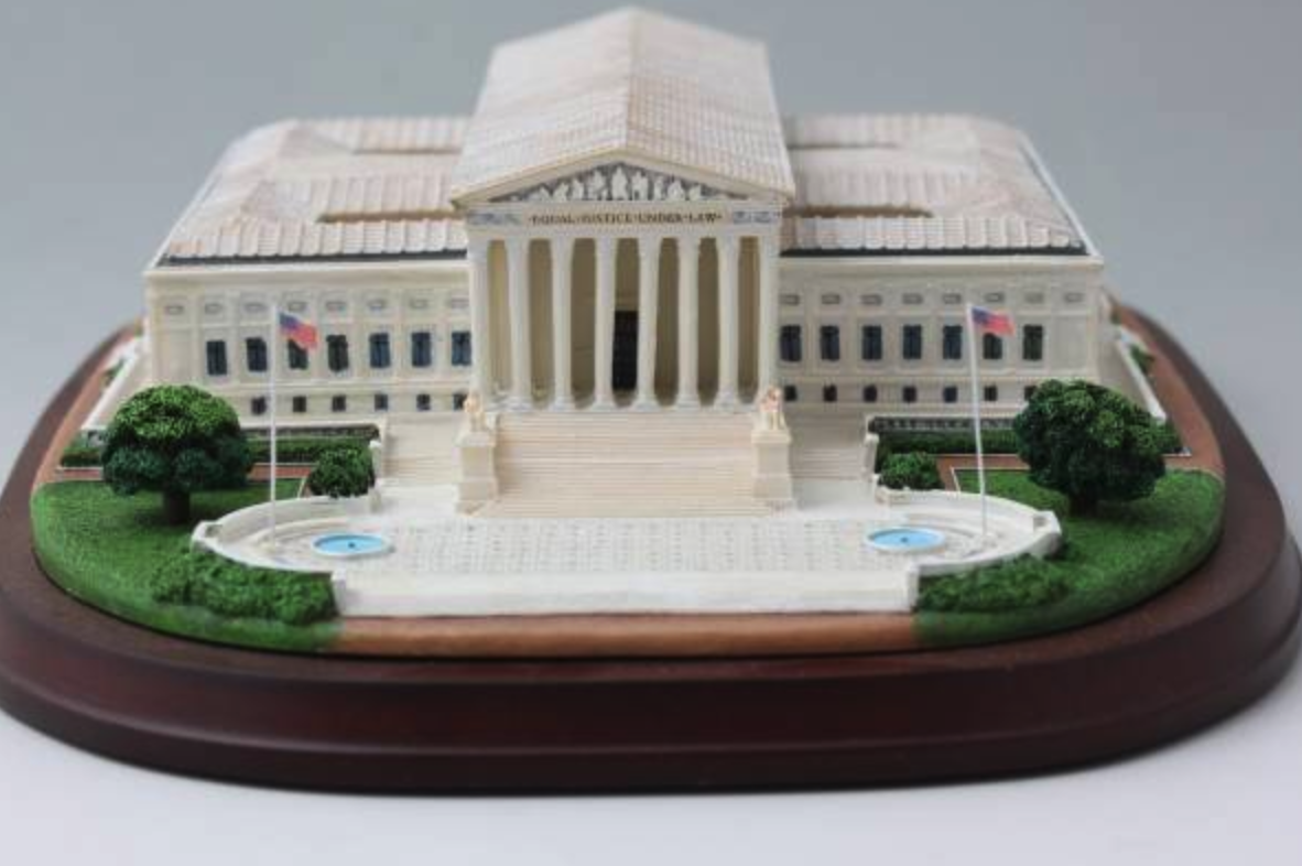 Otona no Chpgokin United States Supreme Court Danbury Mint Donald Trump Kennedy