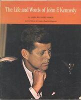 JOHN F. KENNEDY LIFE & WORDS, 1965 BOOK
