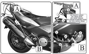 a4de419532 Caricamento dell'immagine in corso Telaietti-Laterali-GIVI-T2013-per-Borse -Morbide-Yamaha-