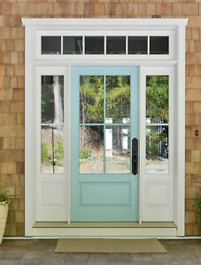 Superbe Details About 3068 FBERGLASS COTTAGE STYLE 4 LITE ENTRY DOOR UNIT