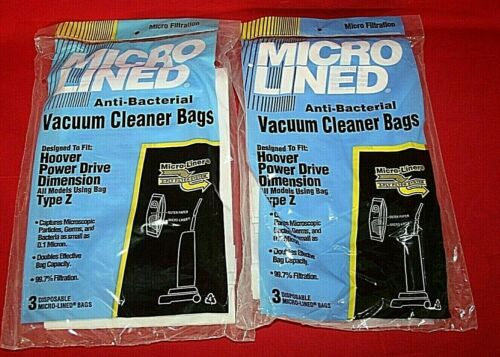 Hoover Power Drive Dimension Type Z Vacuum Cleaner Bags