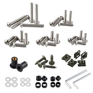 Stainless Steel Complete Fairing Bolt Kit Body Screw For Suzuki GSXR600 750 1000