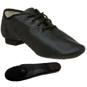 Jazz-Dance-Shoes-Leather-Split-Sole