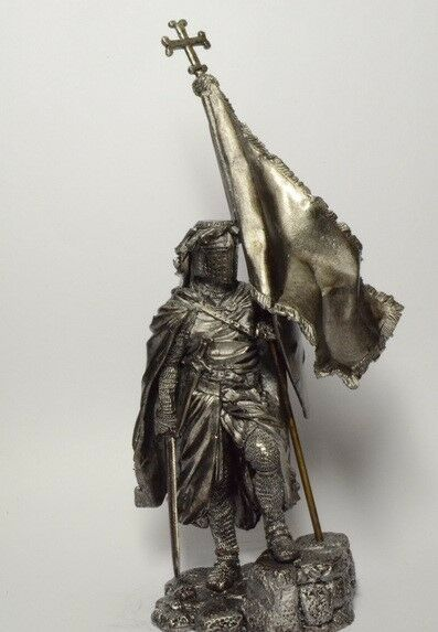 Tin soldier, figure.Grand Master of the Teutonic Order of the 14th Century 75 mm