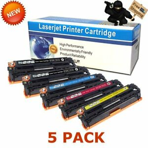 5pk-CF210A-Toner-Compatible-for-HP-131A-LaserJet-Pro-200-Color-MFP-M276nw-M251nw