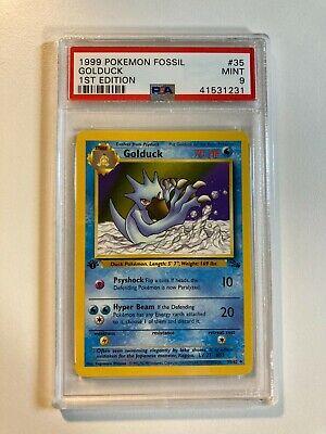 Golduck 1999 Pokemon Card Fossil Set 35//62 Rare Near Mint